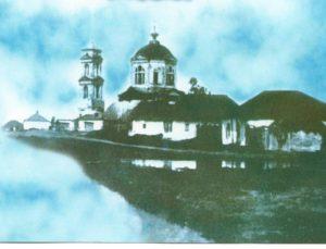 «Караулка» за старой церковью святых бессребреников Космы и Дамиана